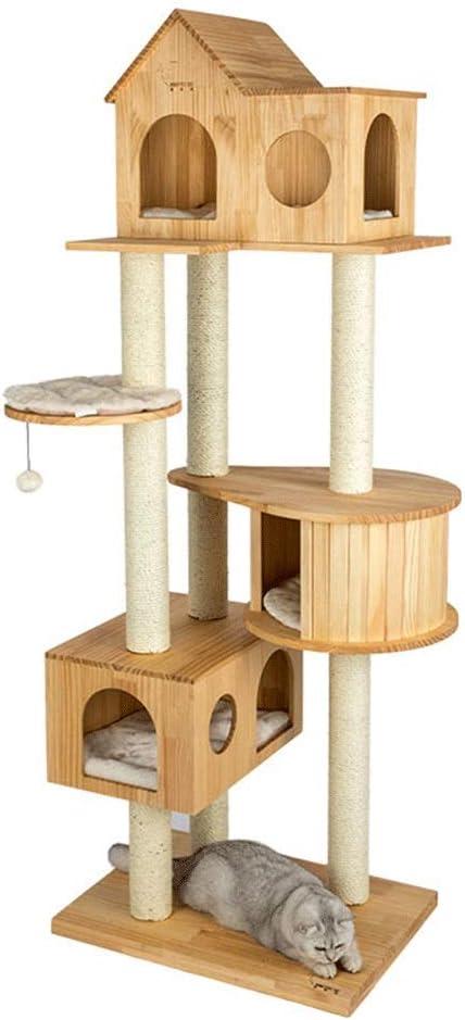 Árbol del gato grande de los muebles Rascador gato Fácil De ...