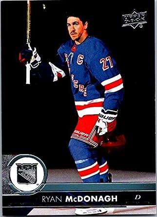 2017-18 Upper Deck Series 2  374 Ryan McDonagh New York Rangers Hockey Card fced5795d