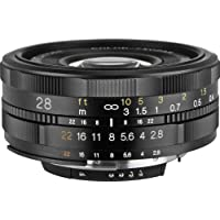 Voigtlander 28mm f/2.8 SL-II Aspherical Manual Focus Lens for Canon EOS Film & Digital Cameras