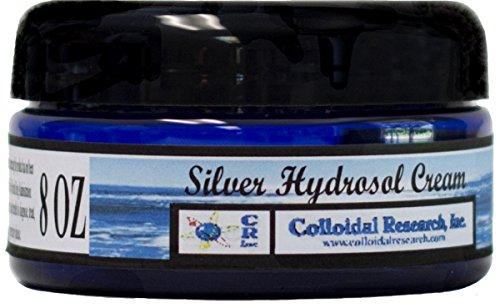 Silver Hydrosol Cream 8 ounce