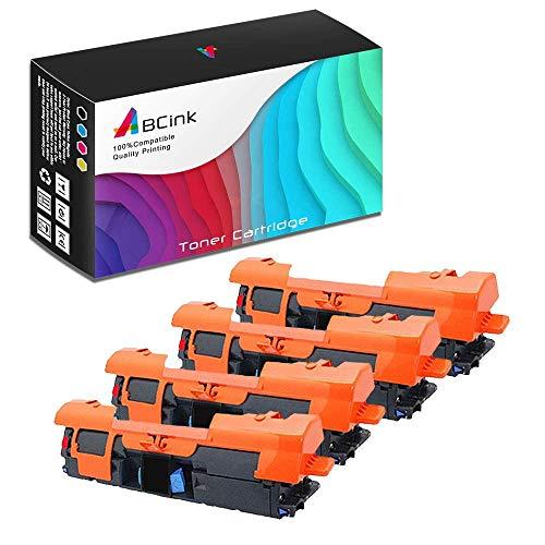 ABCink C9700A 121A Toner Compatible for HP Laserjet C9700A C9701A C9702A C9703A C9704A Printer Toner Cartridge,5000 Yields(4 Pack,Black)