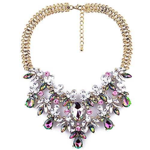 jewel tone party dress - 8