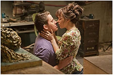 The Vow 2012 8 X 10 Photo Rachel Mcadams Channing Tatum Purple Tee About To Kiss Kn At Amazon S Entertainment Collectibles Store