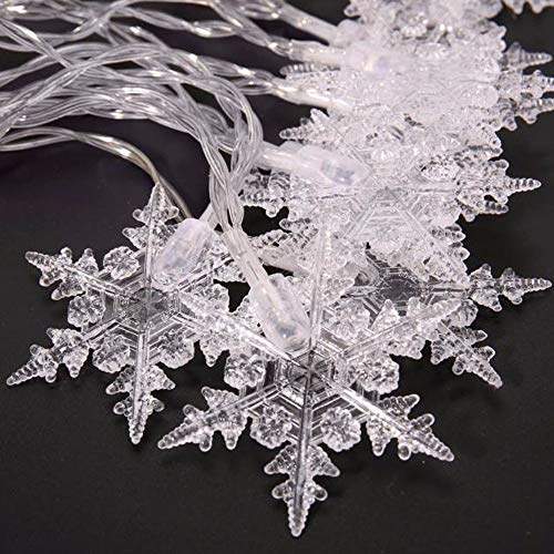 Outdoor Snowflake Lights Price in US - 6
