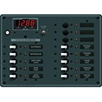 BLUE SEA SYSTEMS Blue Sea 8403 DC Panel 13 Position w/ Multimeter / 8403 /
