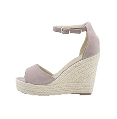 online retailer be7eb f37f7 Lvguang Damen Wedges Schuhe Mode Sandalen Plateau Toe High-Heels Sandalen  Freizeitschuhe Abendschuhe Schuhe