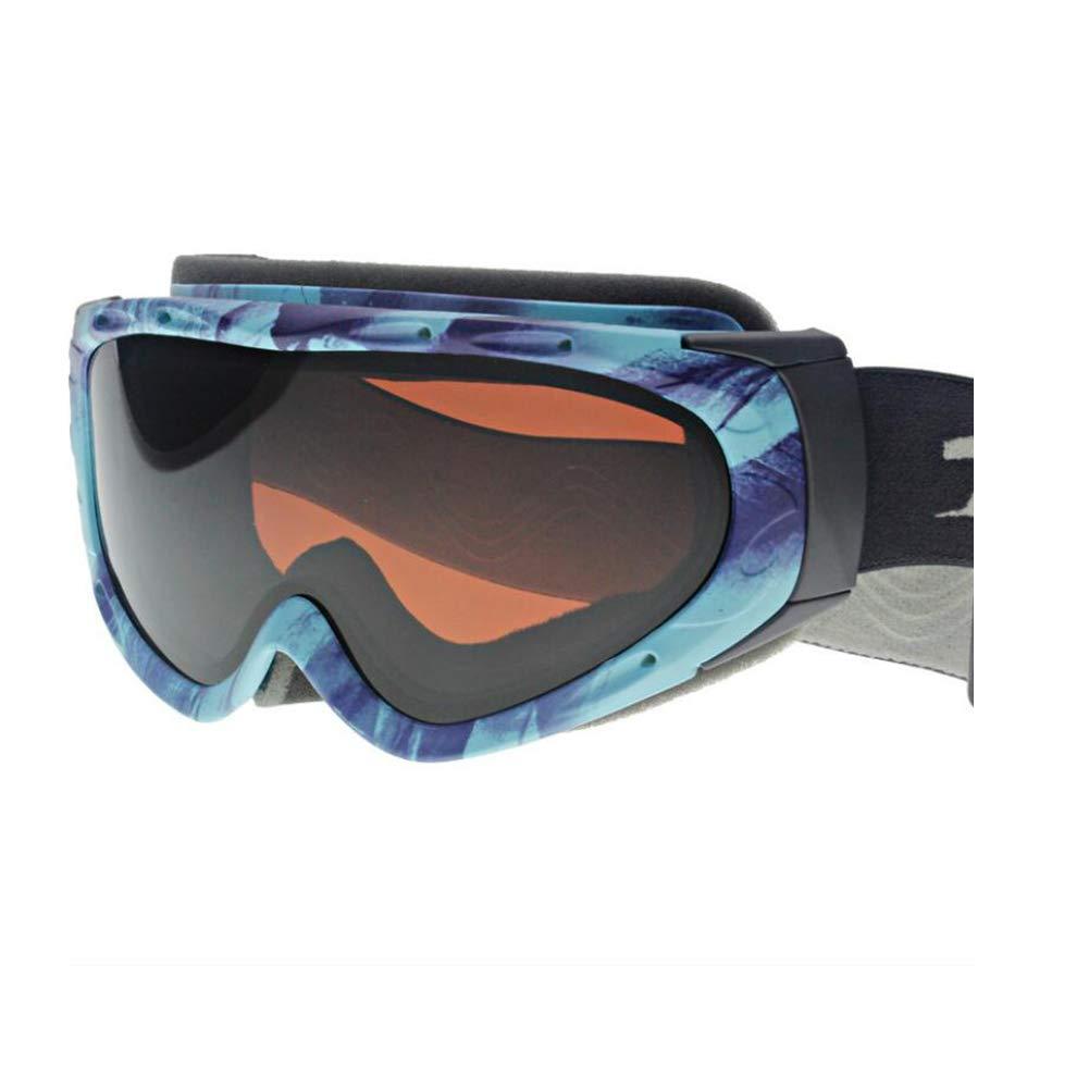 He-yanjing Snowboarding Goggle, Double Lens UV Protection Anti-Fog UV Protection Ski Snowboarding Goggles, ski Glasses (Color : C) by He-yanjing