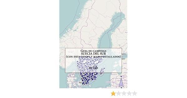 Guia de campings SUECIA DEL SUR con data de gps y mapas detallados: Amazon.es: lab, m: Libros