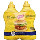 French s Classic 100% Natural Yellow Mustard Pack of 2 30 oz Bottles