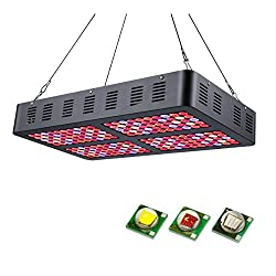 JOMITOP Reflector-Series 1000W LED Plant Grow Light Double Switch for Indoor Plants Veg and Flower AC85-265V