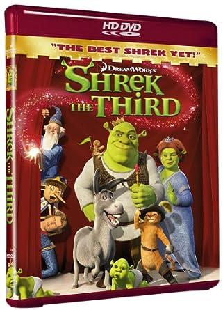 Amazon Com Shrek The Third Hd Dvd Mike Myers Eddie Murphy Cameron Diaz Antonio Banderas Chris Miller Raman Hui Movies Tv