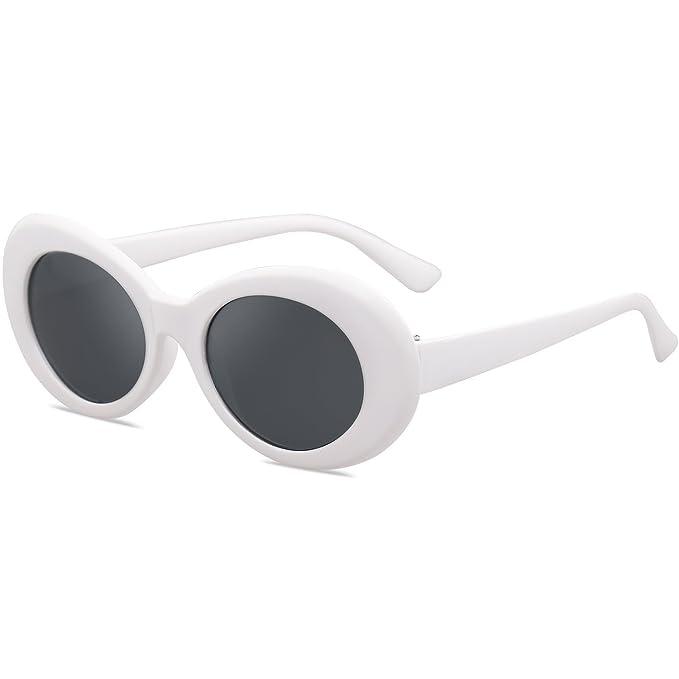 Amazon.com: SojoS Clout SJ2039, lentes de sol modelo ovalado ...