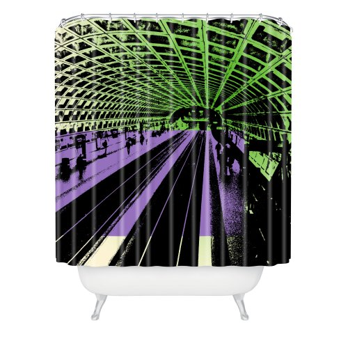 Deny Designs Amy Smith DC Metro Shower Curtain, 69