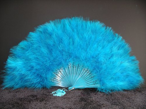 hand feather fan - 5
