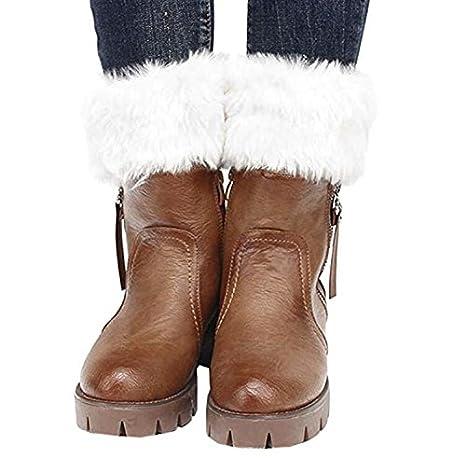 mujeres Sirven Calcetines, tukis puertas Invierno Mujer Crochet strickstrumpf ganchillo fluffies calzas Stricken Boot calentadores Manguito para Booties ...