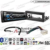 Volunteer Audio Pioneer DEH-S4120BT Single Din Radio Install Kit with Bluetooth, USB/AUX, CD Player Fits 1995-2002 Chevrolet Suburban