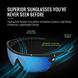 TOREGE Sports Sunglasses with 1.4mm Polarized