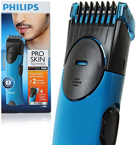 Philips BT1000 Pro Skin Beard trimmer Series 1000: Amazon.es ...