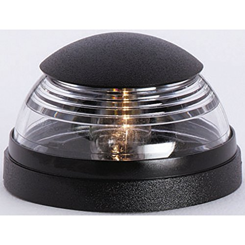 attwood 5940-1 Deck-Mounted All-Round Light-Black