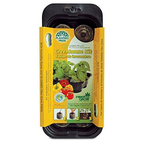 10 Grow Pellets Greenhouse Kit Size: 10 Grow