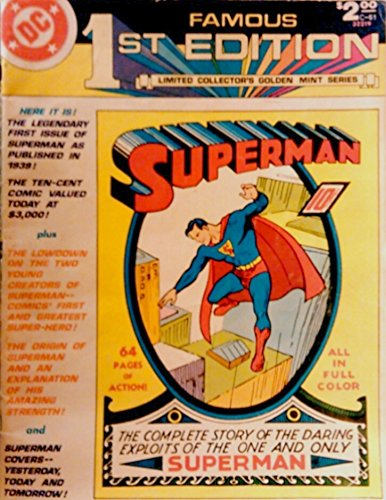 Superman  Famous First Edition, Vol 8, No. C-61  1979, unknown