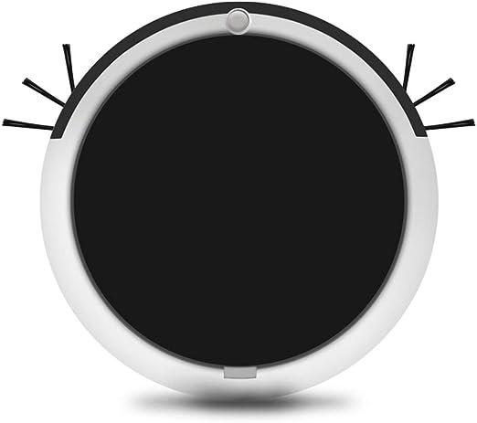 Blusea Robot Aspirador y Fregasuelos, USB Inteligente el hogar Herramienta friega y Pasa la mopa, Especial Mascotas, para Suelos Duros y alfombras, Negro: Amazon.es: Hogar