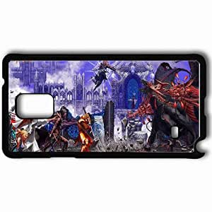 Personalized Samsung Note 4 Cell phone Case/Cover Skin Anima Black
