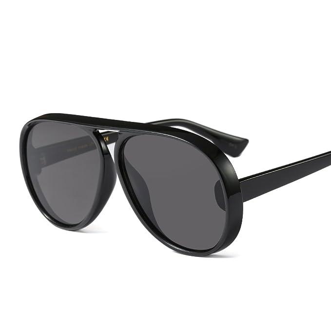 Feicuan Damen Sonnenbrillen Kleines Dreieck Rahmen Mode Schwarze Linse brille UV400 Schutz 1PlXwvMr