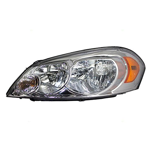 Chevrolet Monte Headlamp Carlo Headlight (Drivers Headlight Headlamp Lens Replacement for Chevrolet 25958359)