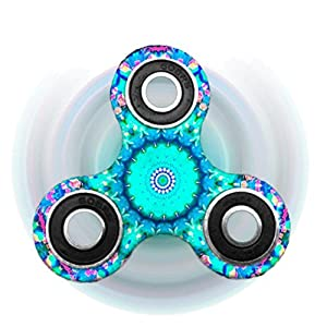 Livoty Fidget Spinner Triangle Single Finger Decompression Gyro (B)