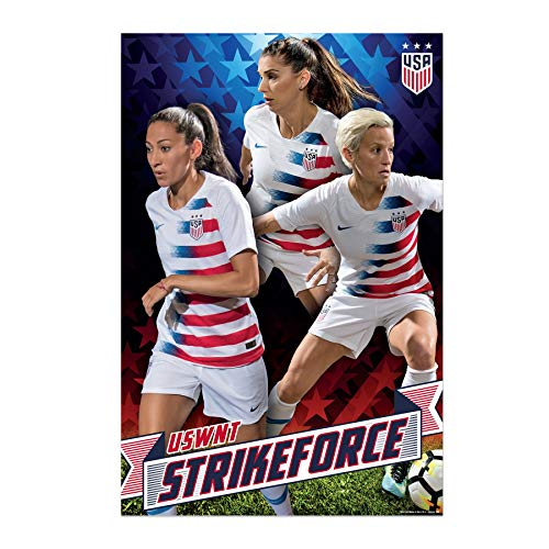 US Women's Soccer Team | USWNT | Strikeforce Poster 2019 (Best Photography Logos 2019)