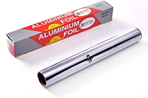 Kitchen Tin Foil Aluminium Foil Roll Catering Food Wrap Grease Proof BBQ Tin foil Baking Aluminum foil 20M
