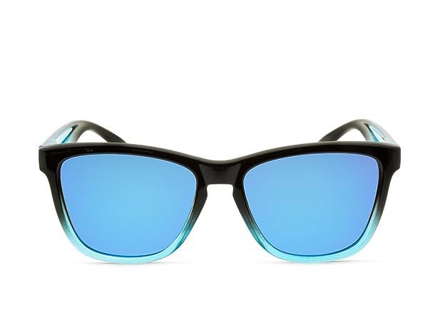 Lunettes de soleil MOSCA NEGRA ® modèle ALPHA SUNSET Blue - Polarized - TR90 kKuZb
