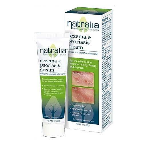 Natralia eczéma et la crème Psoriasis - 2 Oz, 2 Pack