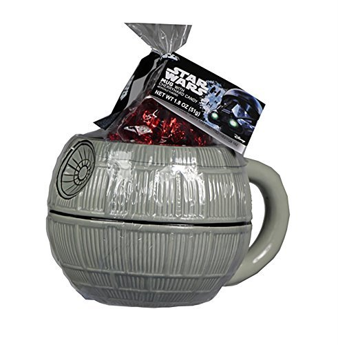 Galerie Death Star Ceramic Mug With Cherry Hard Candy