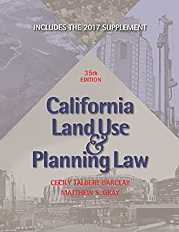 Download for free California Land Use & Planning Law: with 2017 Supplement