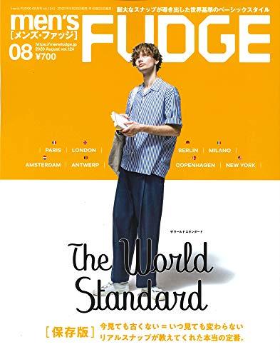 men's FUDGE 最新号 表紙画像