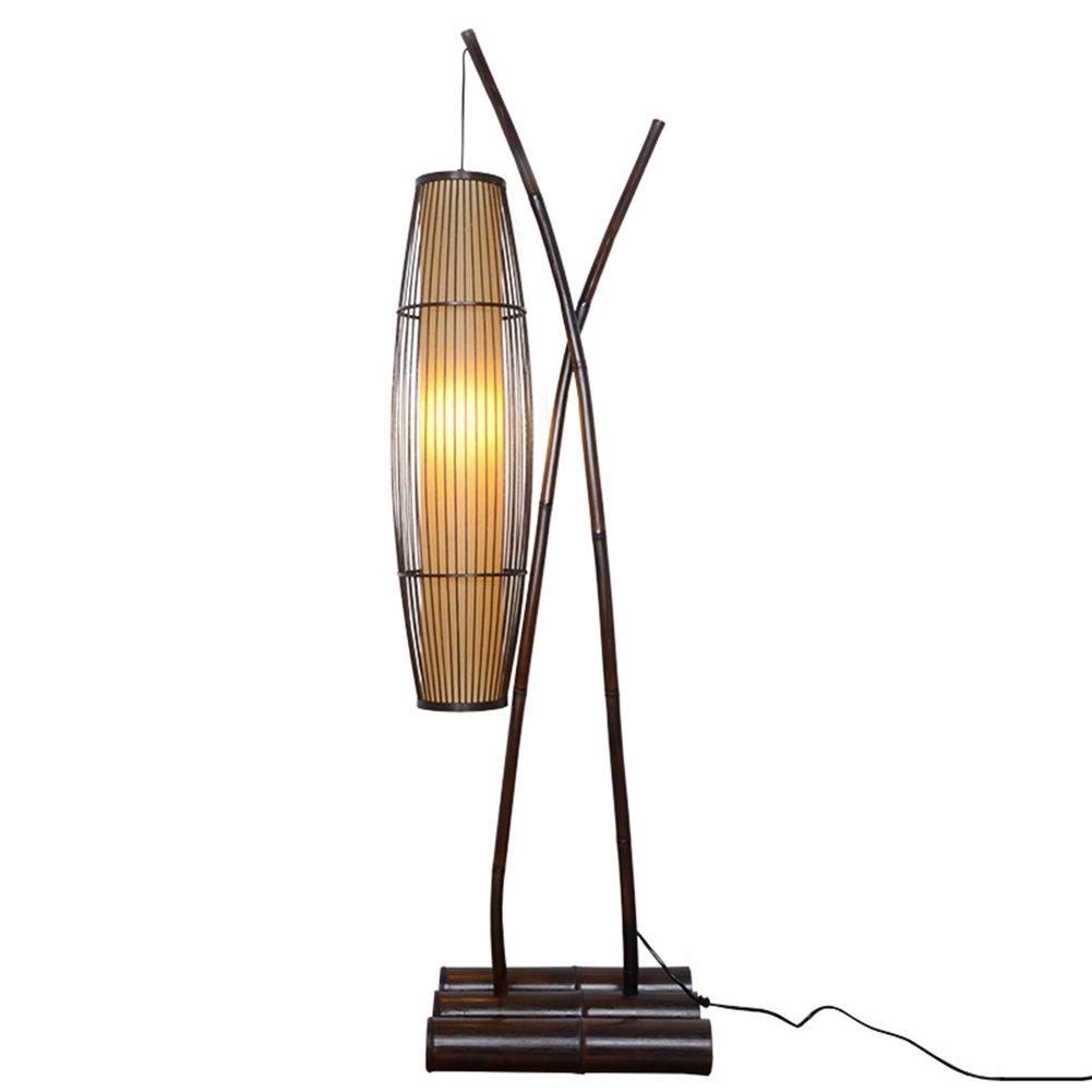 QIDI フロアランプ装飾ライト釣りランプリビングルームベッドルームランプ28 * 153cm B07JR6GS44