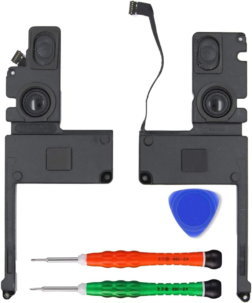 MMOBIEL Speaker Set Left and Right Replacement Compatible with MacBook Pro 15 inch Retina A1398 No. 609-0336-A 2012-2015