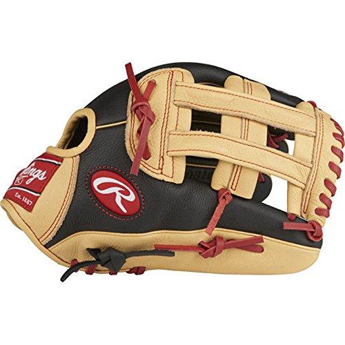 Outfield Pattern Baseball Glove - Rawlings SPL120BH-6/0 Select Pro Lite Youth Baseball Glove, Bryce Harper Model, Regular, Pro H Web, 12 Inch