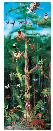 Melissa & Doug Rainforest Jumbo Jigsaw