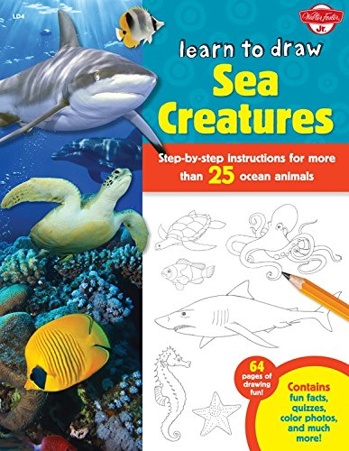 learn to draw sea creatures - 6
