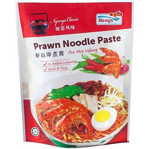 Heng's Prawn Noodle Paste - 200g - Prawn Noodle