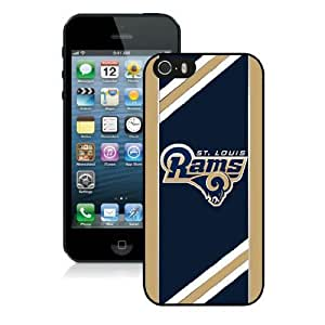 NFL St Louis Rams iPhone 5 5S Case 035 NFLIPHONE5SCASE175 by kobestar