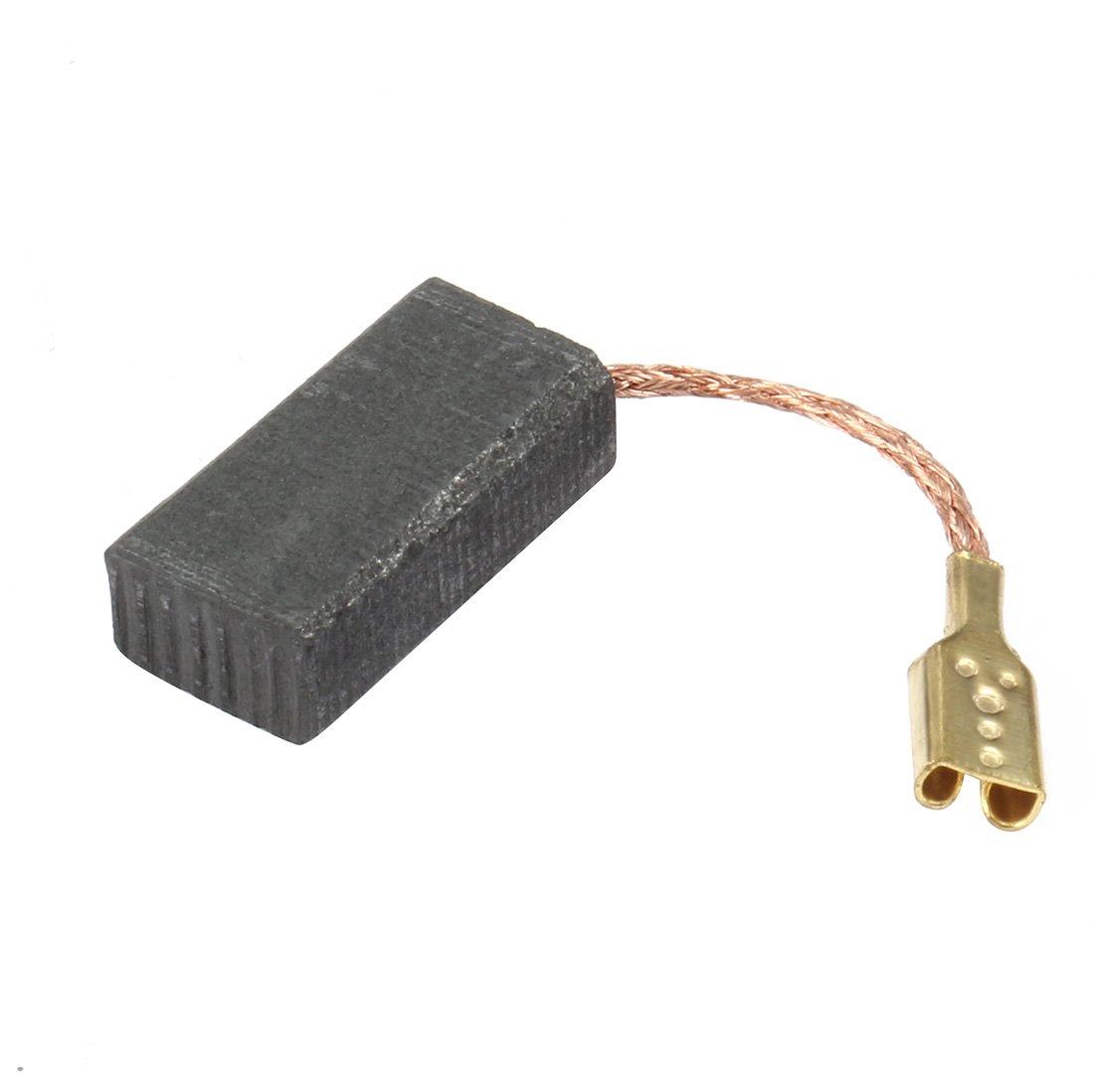 sourcingmap® 5 pares de 15mm x 8mm x 5mm Escobillas de carbón del motor de repuesto para el compresor de aire: Amazon.es: Bricolaje y herramientas