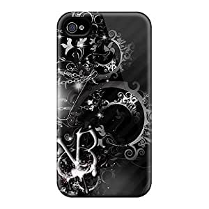 Snap-on Case Designed For Iphone 4/4s- Black Veil Brides