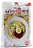 Choung Soo Naeng Myeon, Oriental Style Korean Cold Noodle (Spicy Cold Noodles (비빔냉면), 1 Pack (4 Serving))