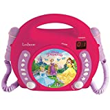 Disney Princess CD Player With Mic (RCDK100DP)