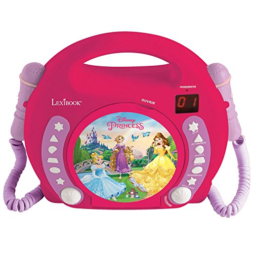 Disney Princess CD Player With Mic (RCDK100DP) by Disney Princess