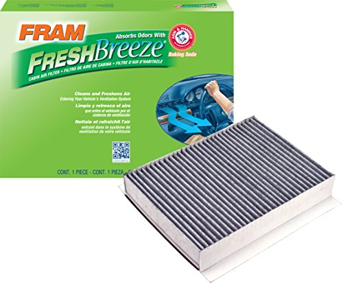 FRAM CF10561 Fresh Breeze Cabin Air Filter with Arm & Hammer by Fram